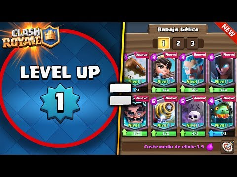 ¡Nivel 1 Atacando con TODO CARTAS LEGENDARIAS en Clash Royale! 😈 - TheMike2311