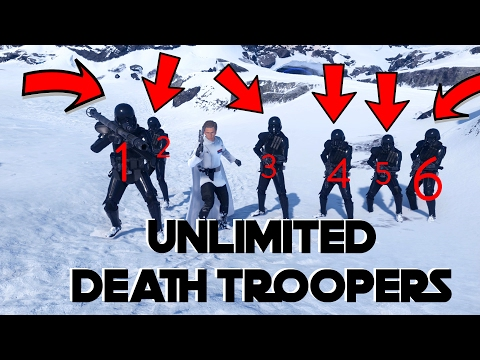 HOW TO GET UNLIMITED DEATH TROOPERS - Star Wars Battlefront