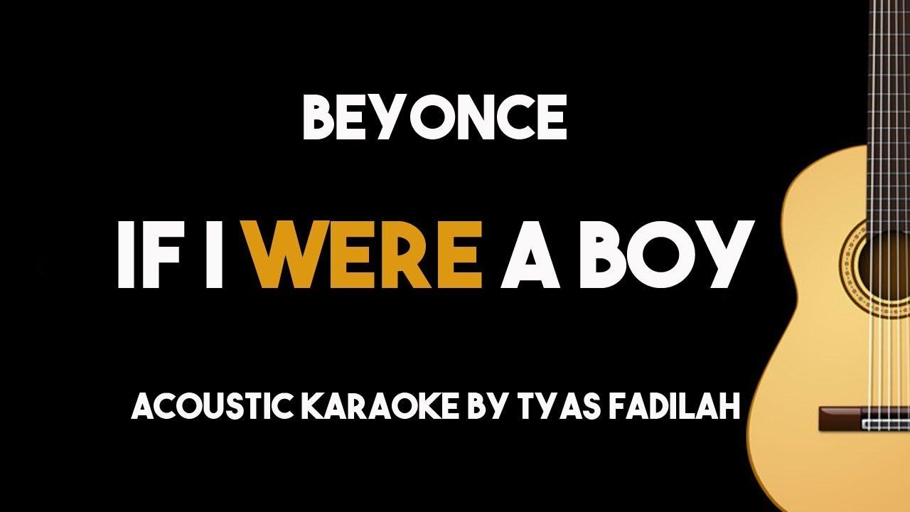 Beyonce-If I were a boy(lyrics) - YouTube