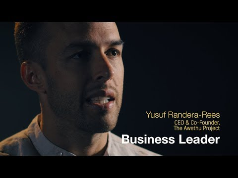 The Yusuf Randera-Rees Business Leadership journey