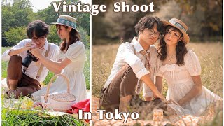Cottagecore Tokyo Picnic Shoot