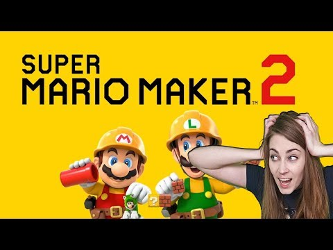Mario Maker 2 Announcement Reaction & Review!