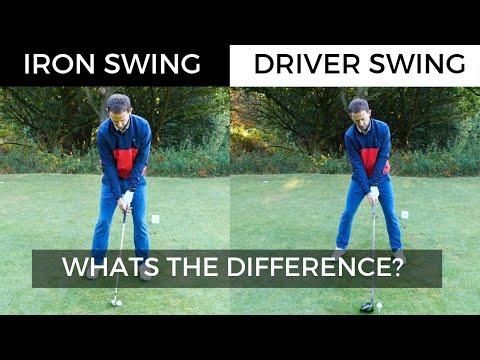 IRON SWING VS DRIVER SWING