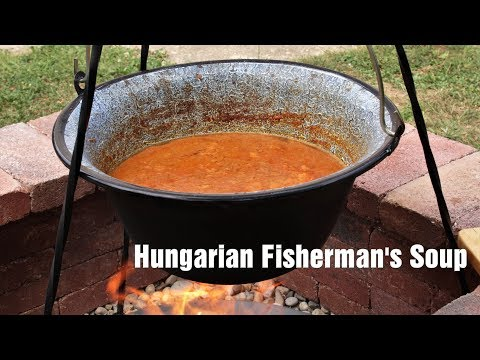 Hungarian Fisherman's Soup (Halászlé)
