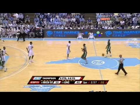 NCAA 2009.12.01. Michigan State@North Carolina