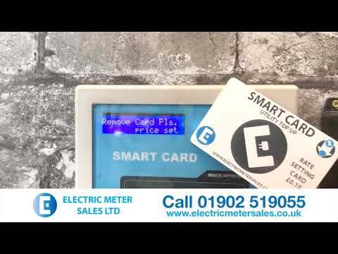 EMS Smart Card Meter Contactless RFID - Single Phase Meter