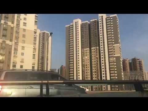 Sull'Autobus a Jinan - Attraversamento Ponte