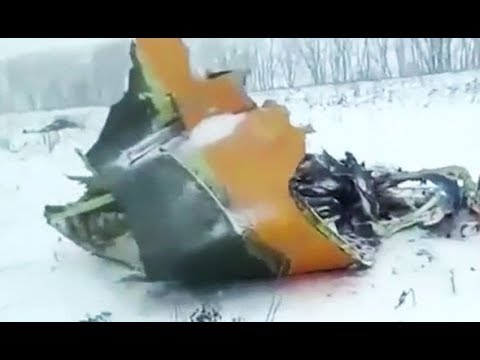 71 feared dead after Russian passenger plane crashes near Moscow