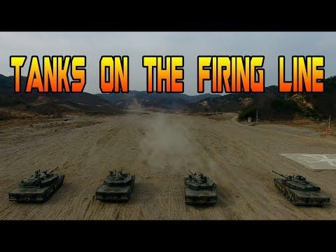 Tanks on the Firing Line