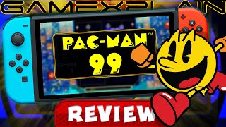Pac-Man 99 REVIEW + Is the DLC Worth It? (Video Game Video Review)