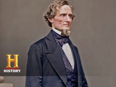 Blood and Glory: The Civil War in Color: Davis is Chosen to Lead | History