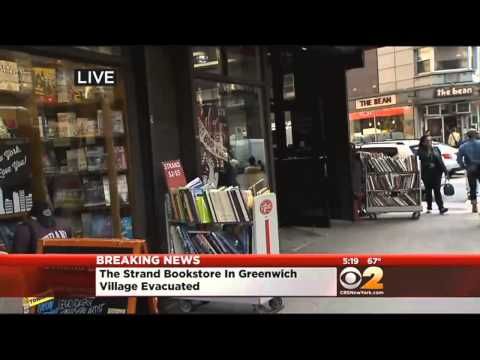 The Strand Bookstore In Greenwich Village Evacuated