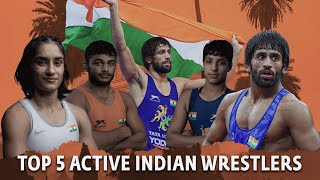Top 5 Active Indian Wrestlers