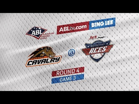 REPLAY: Canberra Cavalry @ Melbourne Aces, R4/G3 #ABLCavsAces