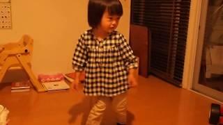 165 2歳2ヶ月赤ちゃん子供 hiphopダンス breakdance 2years old baby kid child