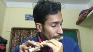 khachar vitor ochin pakhi flute cover by nilangshu