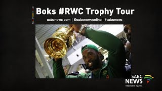[LIVE] Springboks Rugby World Cup trophy tour in Durban