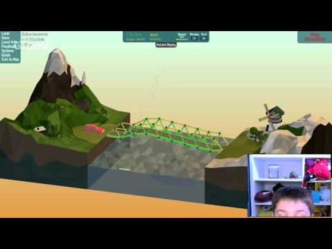 Poly Bridge Game Demo