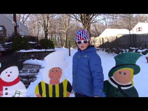 Hampstead Academy's Snowman Mannequin Challenge