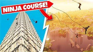 INSANE GRAPPLE NINJA COURSE In Fortnite Battle Royale