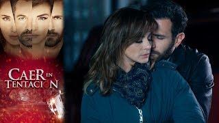 Raquel y Santiago sospechosos por la muerte de Carolina | Caer en tentación - Televisa