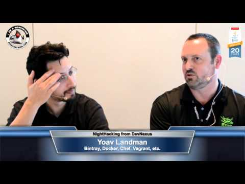Yoav Landman on Bintray, Docker, Chef, and Vagrant