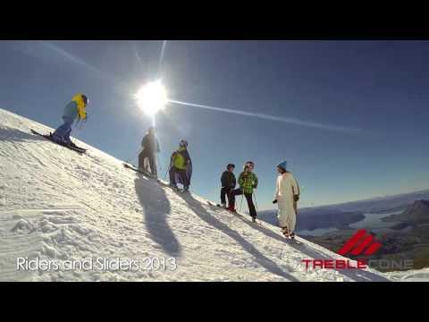 Treble Cone's Ski Resort New Zealand - Riders and Sliders 2013