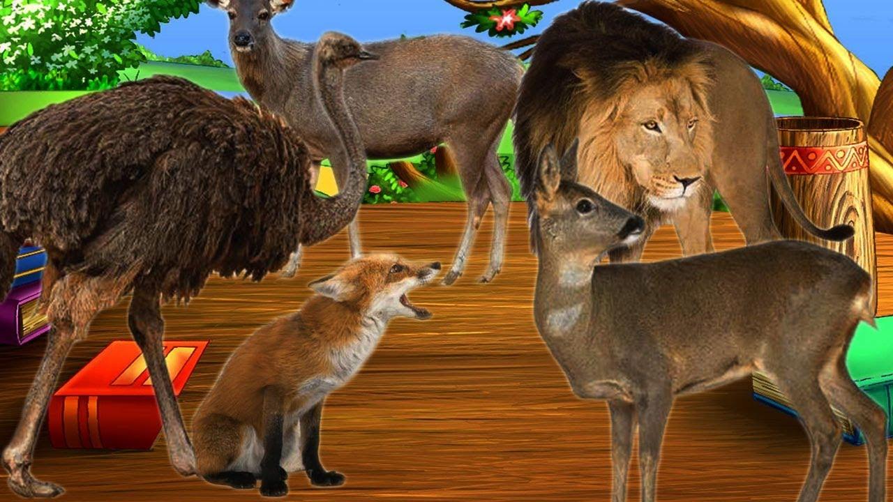 Bài 9. Các hành động và động vật hoang dã || Dạy bé các hành động và tên con vật