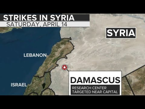 How did Russia response to the airstrikes in Syria?