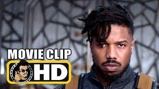 BLACK PANTHER (2018) Movie Clip Killmonger Justice + Trailer  FULL HD  Marvel Superhero Movie HD