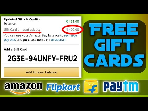 [Free Gift Cards] Get free amazon, flipkart, paytm Vouchers (2020) [Real Trick]