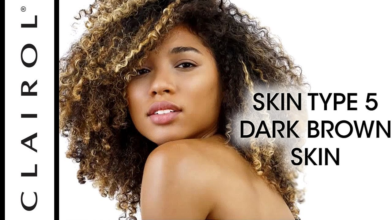 Best Hair Color For Dark Brown Skin Tones Swatches Clairol
