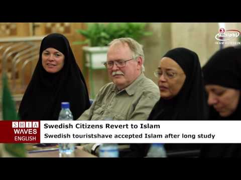 Five Swedish Citizens revert to Shia Islam at Imam Redha Holy Shrine
