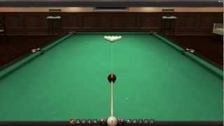 Billiards3D - демонстрация демо-версии 3D бильярда