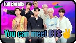 🤘😁Good news/ You can meet BTS on zoom meeting/ Full details- How, Where, date,time/ talk to BTS