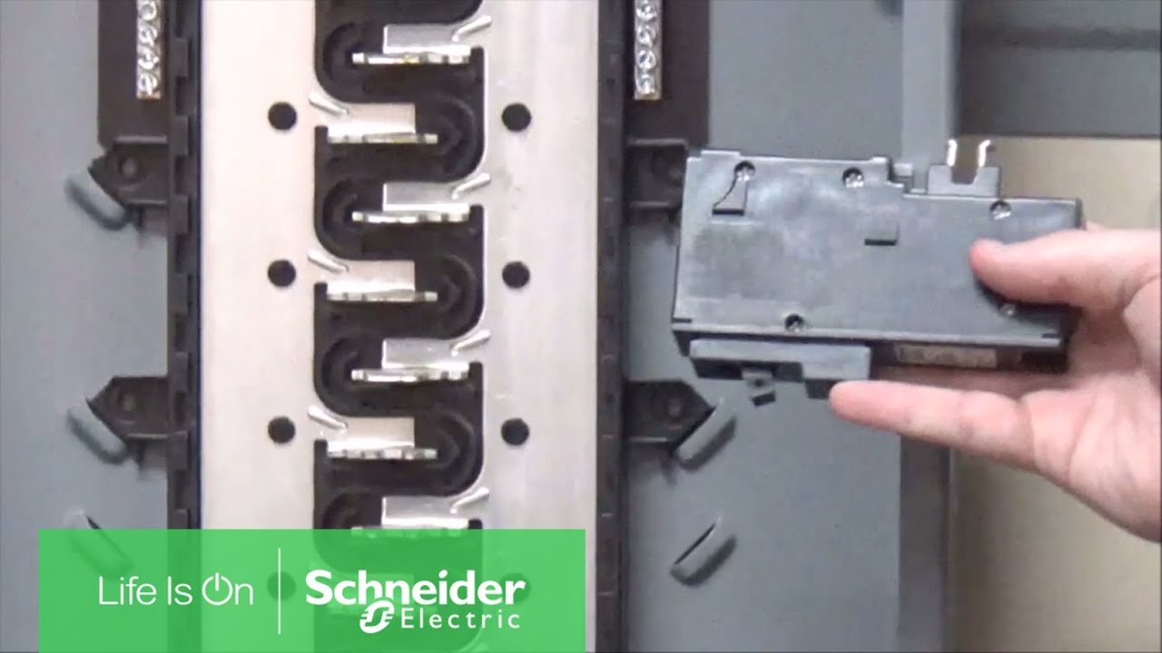Differentiating Plug On Non Neutral Homeline Breakers Circuit The Homelinetm Dual Function Breaker Panels Schneider Electric Support