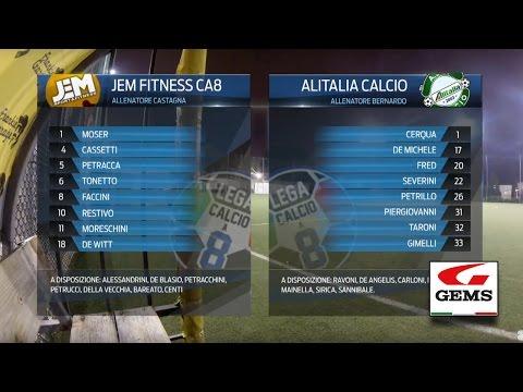 Jem Fitness C8 3-4 Alitalia Calcio   Serie A - 24ª   Highlights