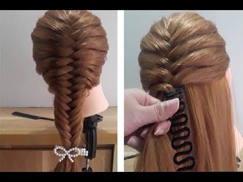 365 Kiểu tết tóc đẹp đơn giản dễ làm cho bạn gái #5 | Easy Braided Hairstyles. Tóc Đẹp