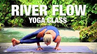River Flow Yoga Class - Astavakrasana - Five Parks Yoga