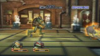 TMNT: Smash-Up - Wi-Fi - Claxus [Rapheal] vs KingDedede16 [Michelangelo]