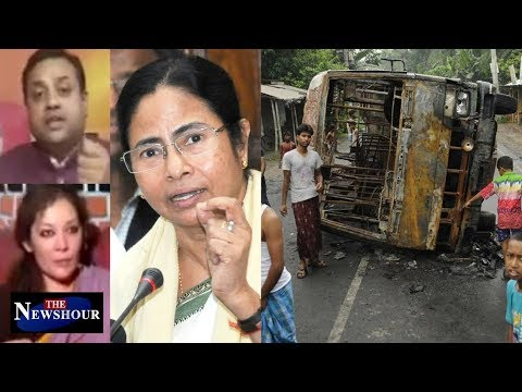 Violence In West Bengal: Mamata Banerjee Blames Centre | The Newshour Debate (7th July)