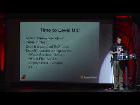 Level Up! Practical Windows Privilege Escalation - Andrew Sm