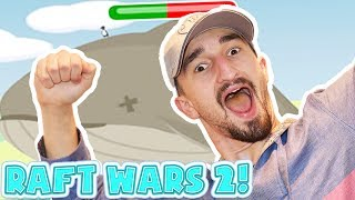 EXPLODING WHALE - RAFT WARS 2!! - Flash Player Games