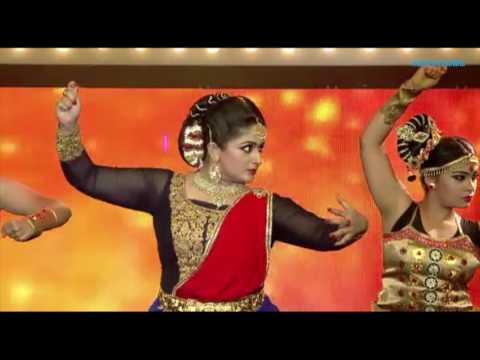 VANITHA FILM AWARDS 2016  | ബാഹുബലിയിലെ ഗാനത്തിന് ചുവടുവച്ച് കാവ്യ
