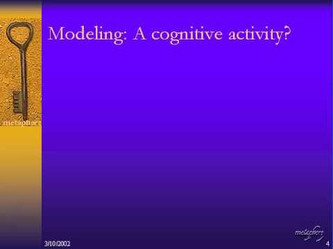 David Fishwick >> Philosophy of Modeling - YouTube