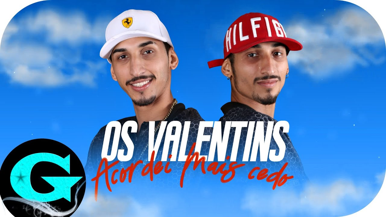 Os Valentins - Acordei Mais Cedo (Lyric Video) Apollo Beats