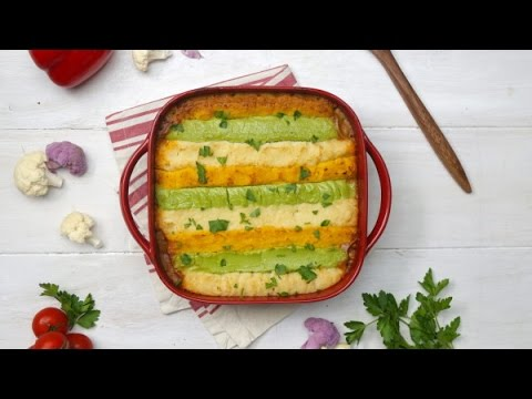 How to make cauliflower shepherd's pie, easy shepherd's pie recipe with ground turkey | home cooking