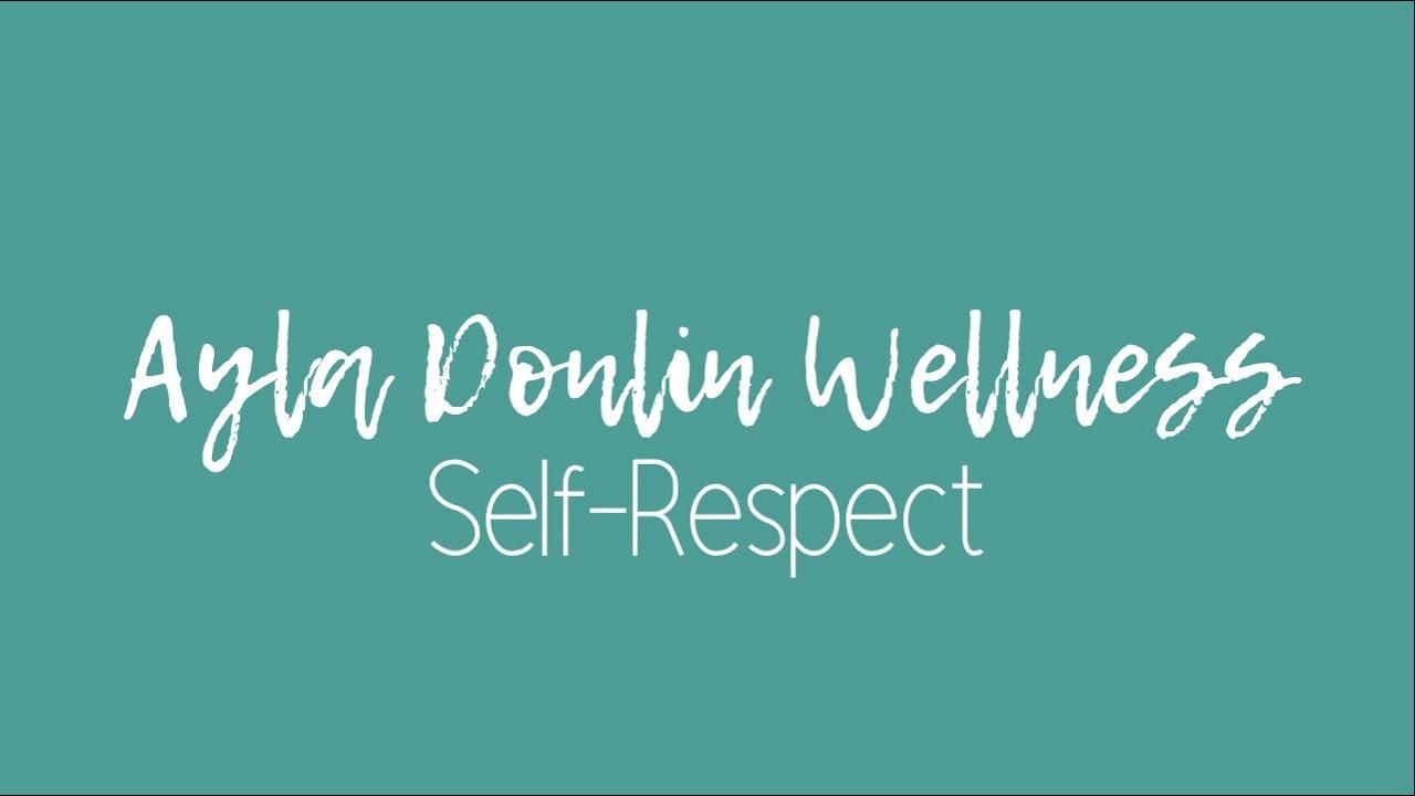 Self-Respect Meditation