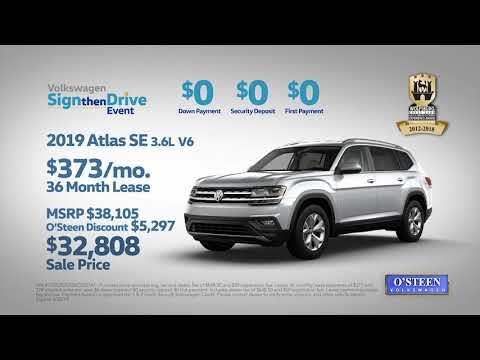 O'Steen Volkswagen - Revised April Sign Then Drive Atlas Tiguan TV Spot