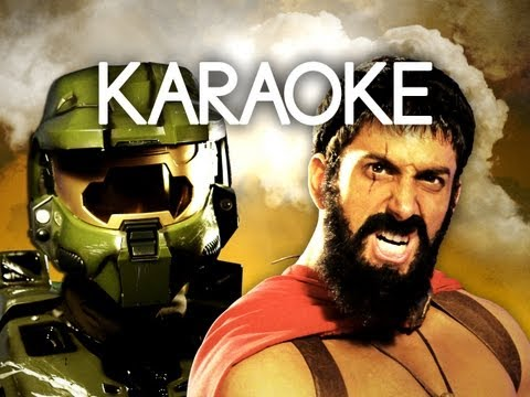 [KARAOKE ♫] Master Chief vs Leonidas. Epic Rap Battles of History. [INSTRUMENTAL]